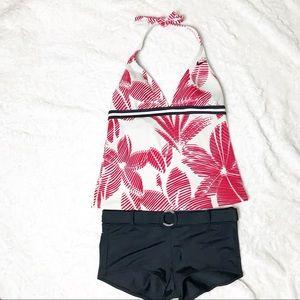 Nike Swim - Nike Tankini and Boy-Short Bottom